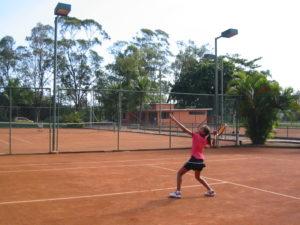 Treinando aos 12 anos no Clube Marapendi (RJ) na Equipe do Ricardo Acioly.